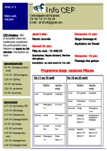 1 Bulletin info MAR à JUIN  2016 IMAGE